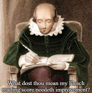 shakespeare content writer