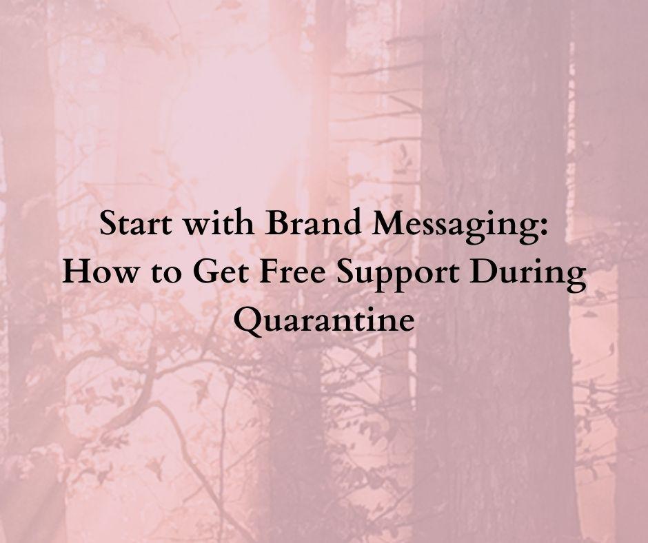 brand messaging framework content writing